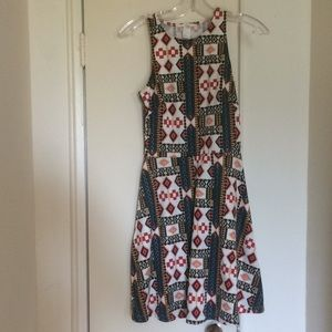 H&M colourful dress small